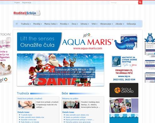Izrada sajta RoditeljSrbija